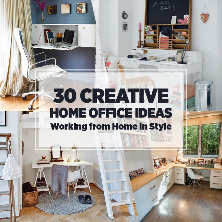 Creative Home Office Decorating Ideas: Good Home Office Ideas