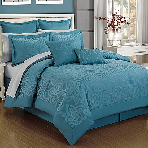 Turquoise Comforter Sets Homesfeed