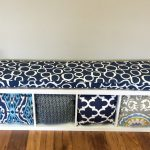 Decorative Bench Pad With Pillow Storage Of Bench Cushions Ikea