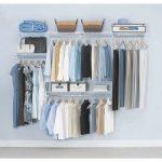 Doorless closet organizer Lowe