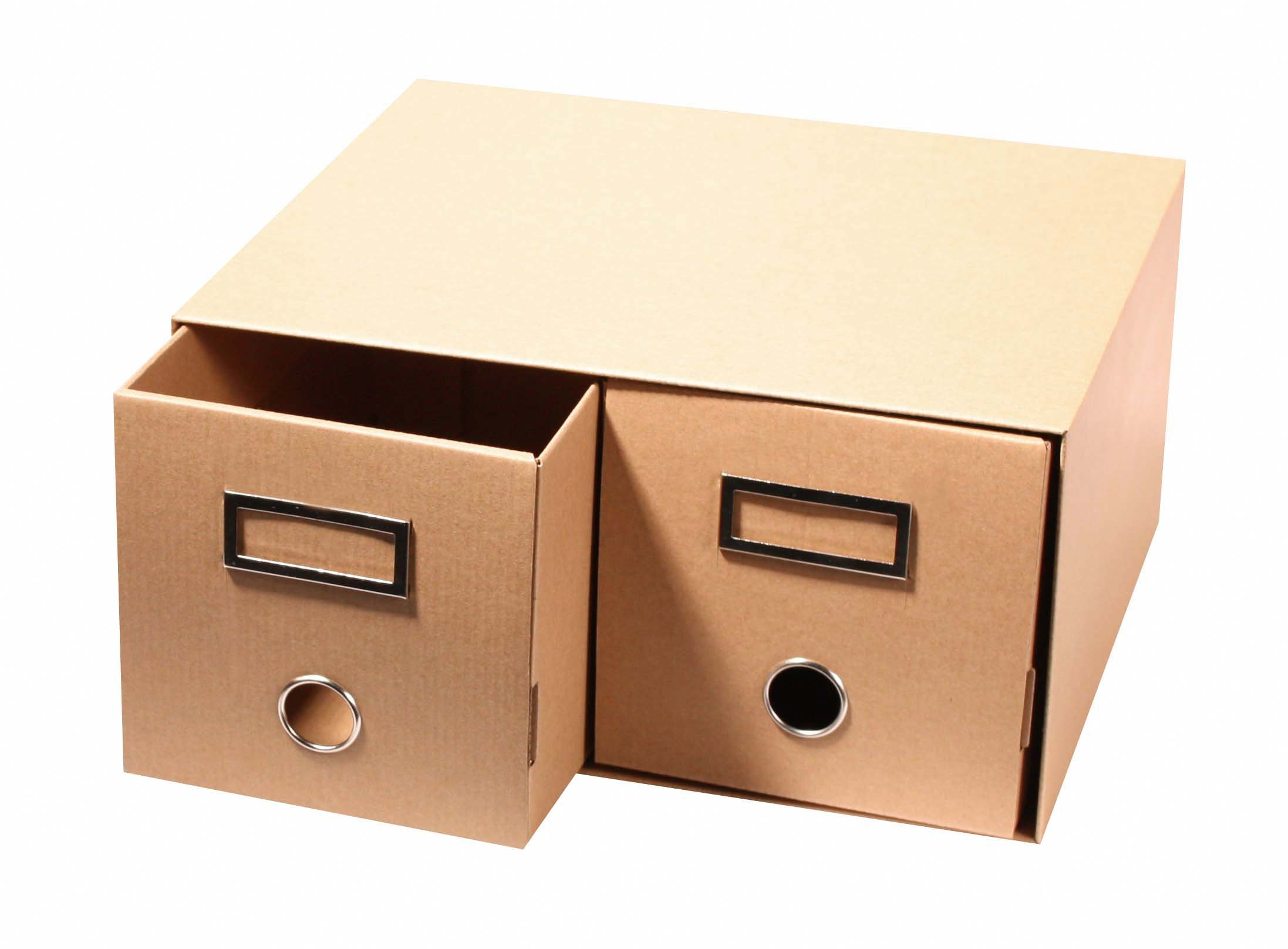 High Quality Double CD Storage Drawers