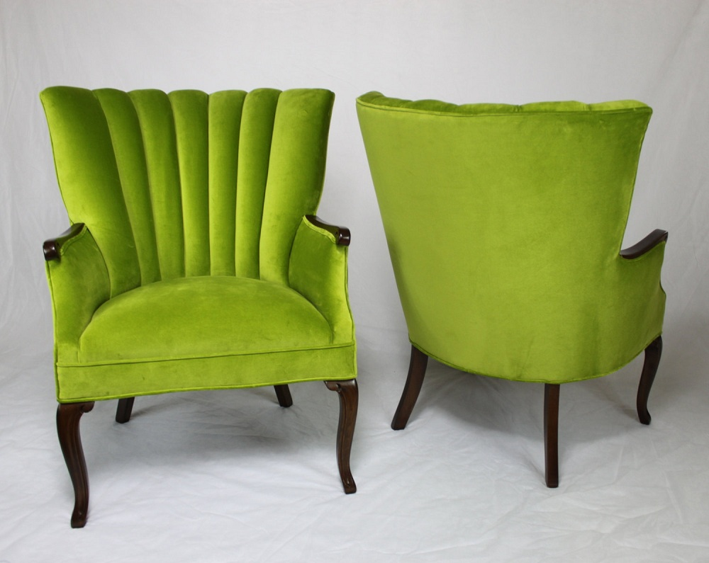Nice Double Unique Lime Green Accent Chair