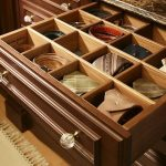 Drawers Of Belt Storage Ideas For Men