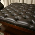Tufted Leather Ottoman Coffee Table Square Leather Ottoman Coffee Leather Ottoman Coffee Table Leather Ottoman Coffee Table