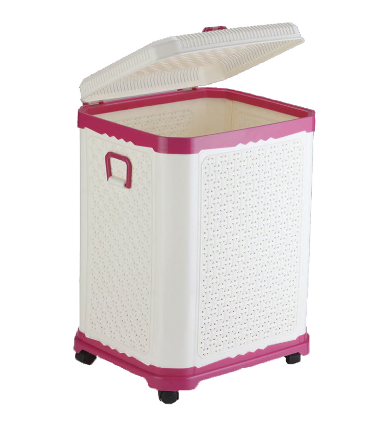 Good laundry baskets with wheels homesfeed for Laundry room baskets with wheels