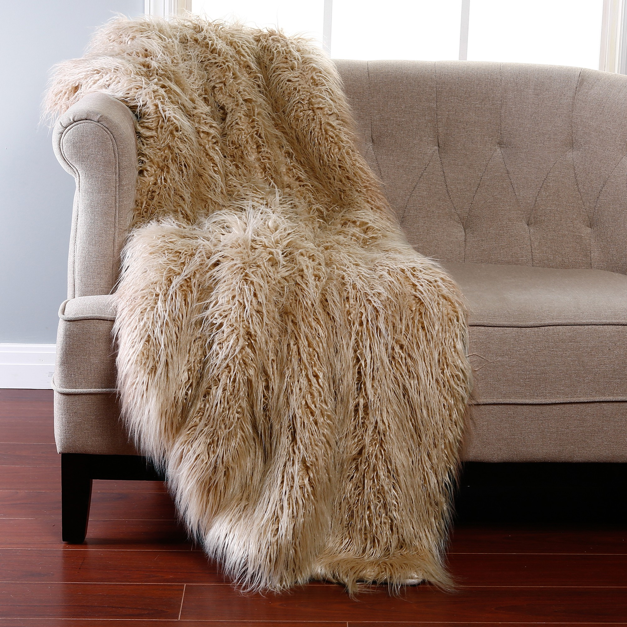 sheepskin bathroom rug