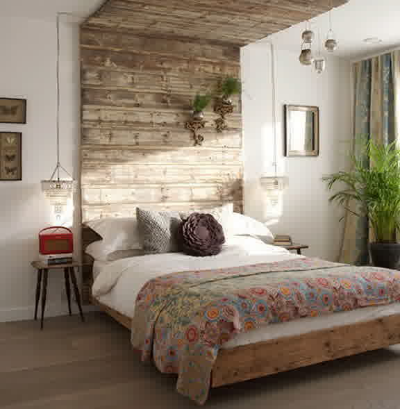 Wall mount headboard full image for antique wood - Floor to ceiling headboard ...