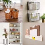 Four ideas of wall organizers for office or home office
