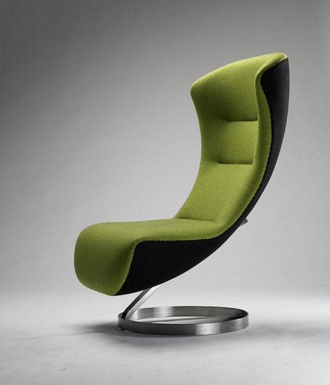 Cool lime green accent chair homesfeed for Cheap cool furniture uk