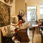 Gorgeous Home Office With Decoration And Cheetah Print Rugs