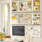 Great Wall Organizers For Home Office Next To Window With Perfect Table And White Chair