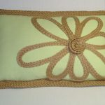 Green Stratford Home Pillows With Flower Design