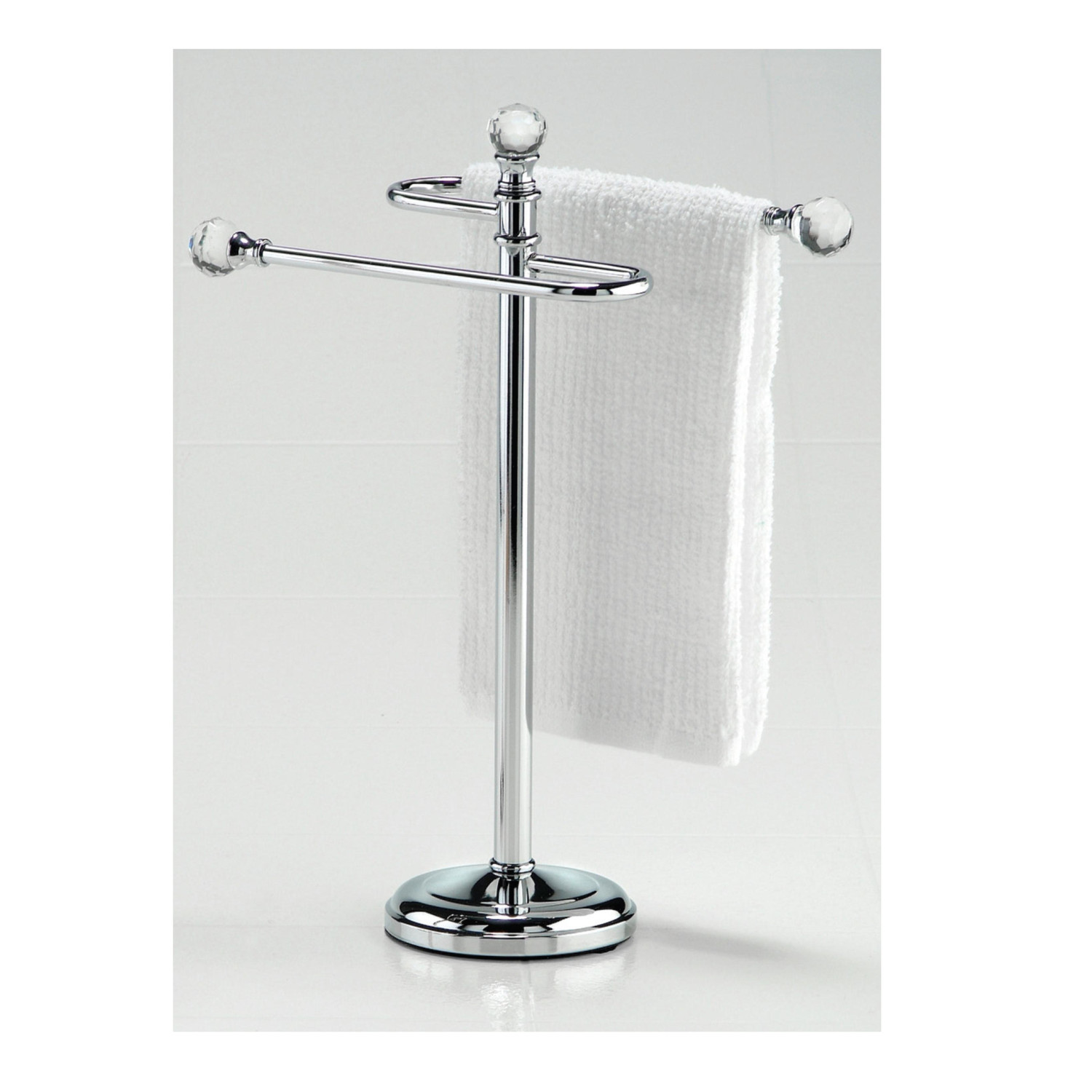 Chrome Hand Towel Stand Inside Hand Towel Stand Made Of Chrome With Two Units Rail Popular Items Towel Stand Homesfeed