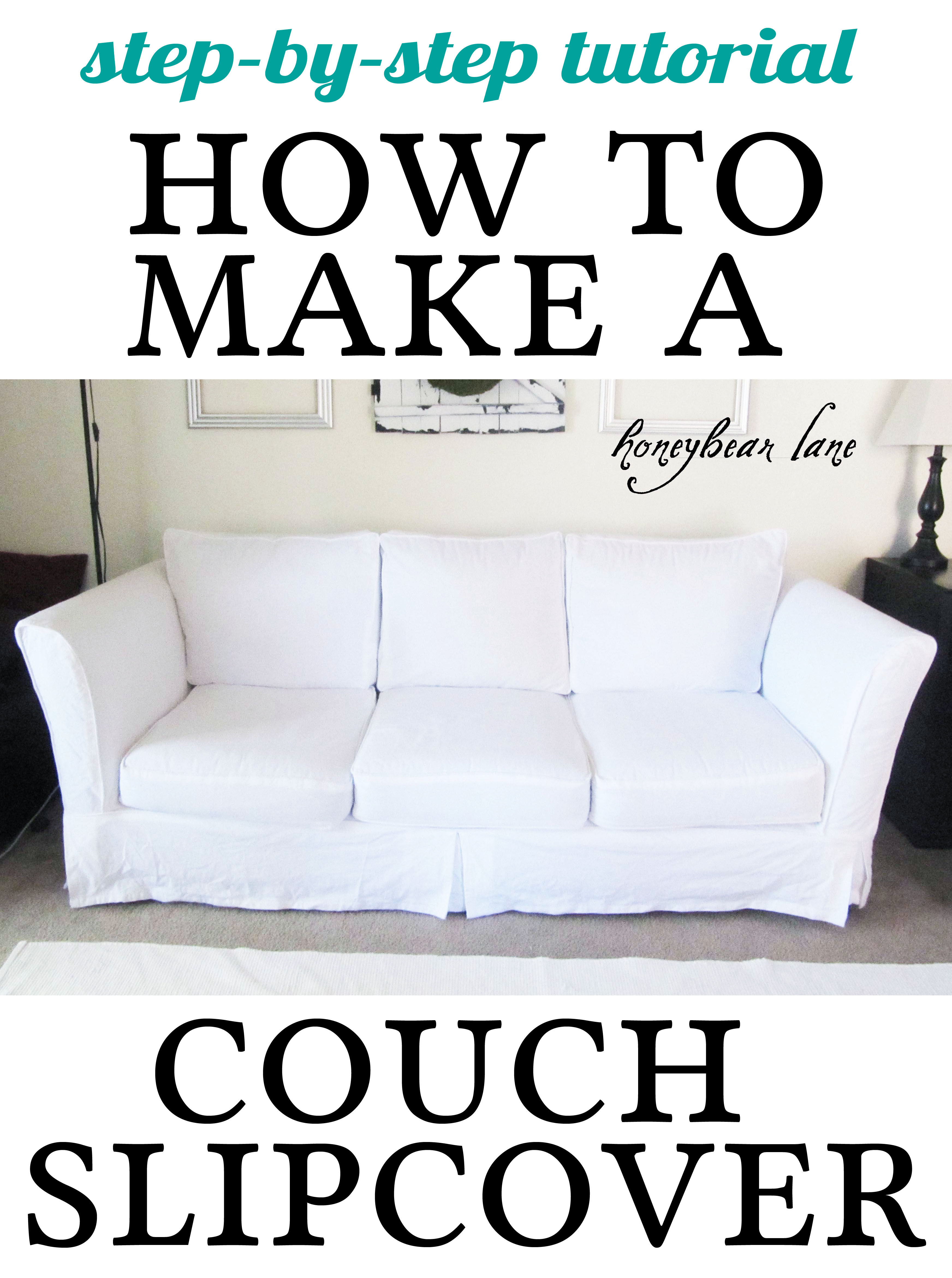 Slipcovers For Leather Couches Homesfeed ~ White Slipcovers For Sofa