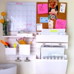 Inspiring wall organizer idea for office or home office