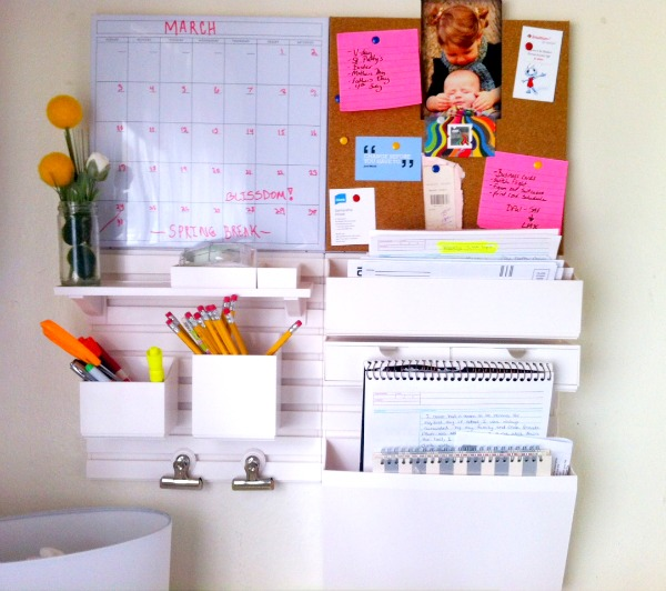 Home Office Wall Organizer create your own wall organizer for office | homesfeed