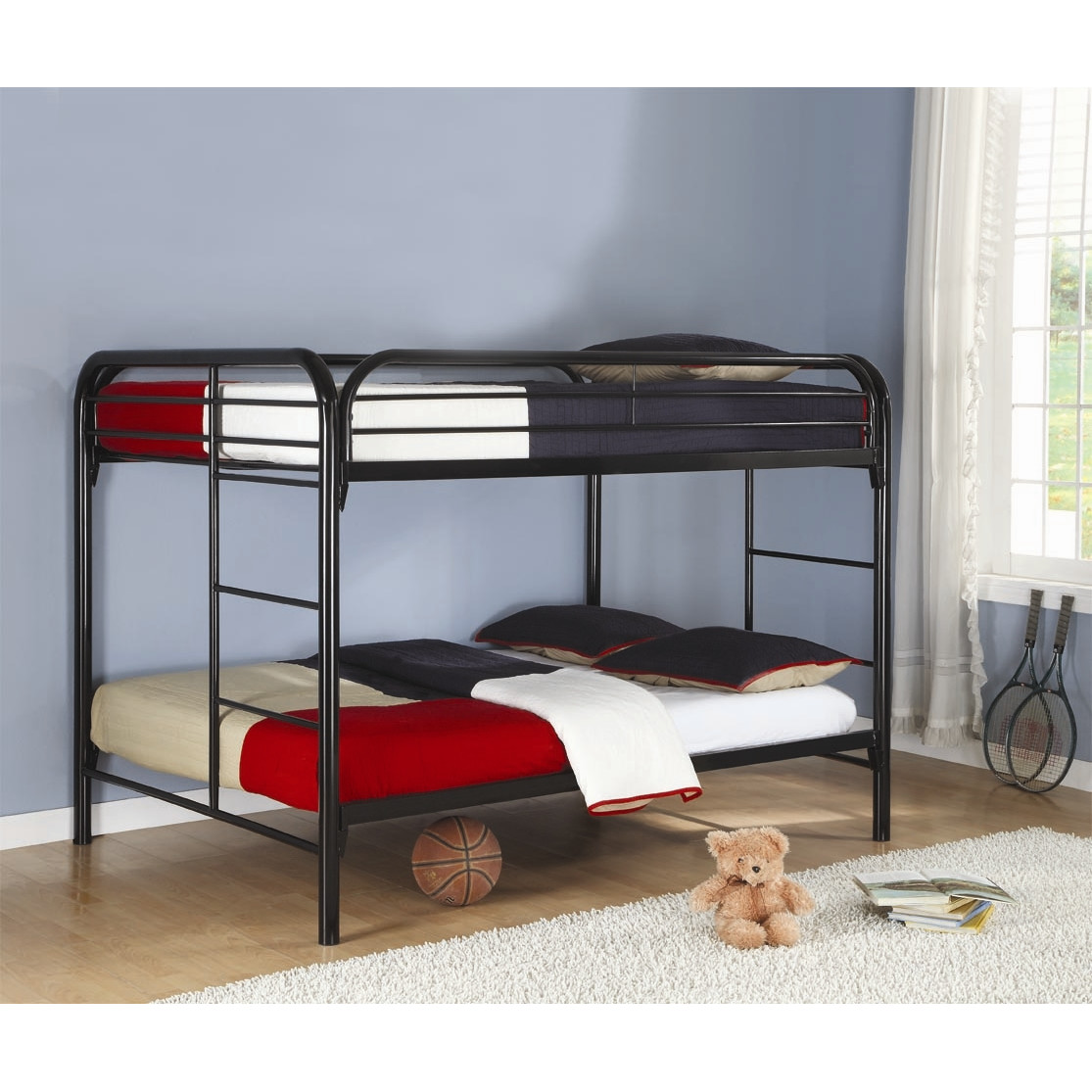 Sturdy bunk beds for adults homesfeed Black bunk beds