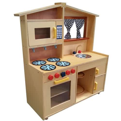 wooden toy kitchens for little 'chefs' | homesfeed