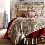 Lake House bedding with floral motifs