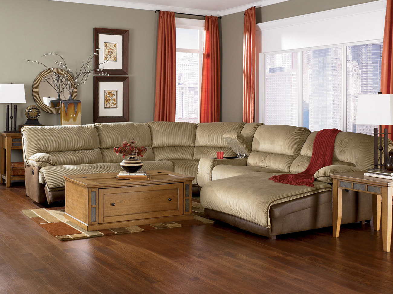 Best sectional sofas with recliners and chaise homesfeed for Chaise living room