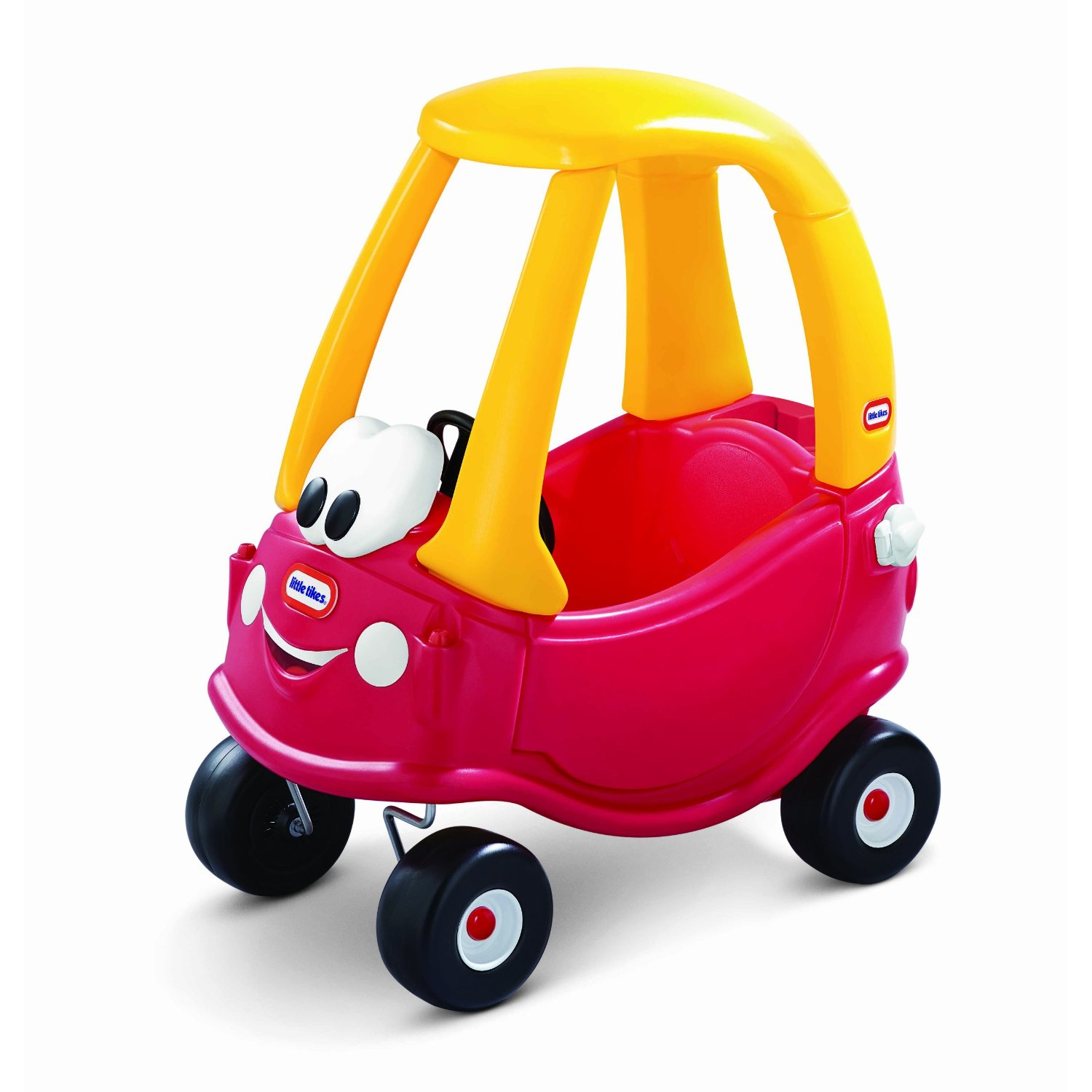 lil tykes car design with red and yellow color