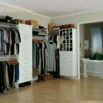 Lowe's corner closet organizer for clothes and shoes