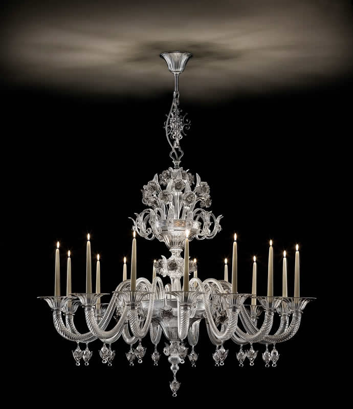 Beautiful real candle chandelier homesfeed Crystal candle chandelier