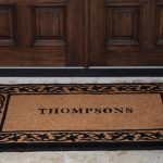 Luxury Double Door Mat