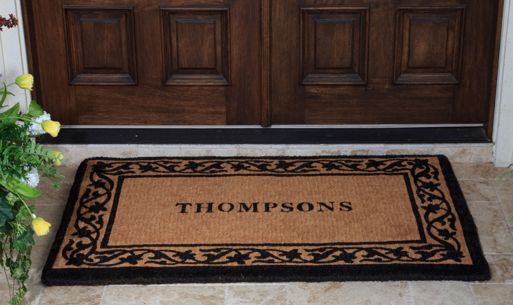 Amazing Double Door Mat | HomesFeed