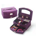 Makeup Storage Case Idea In Purple