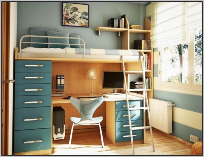 Wooden Loft Bed With Desk Most Recommended Space