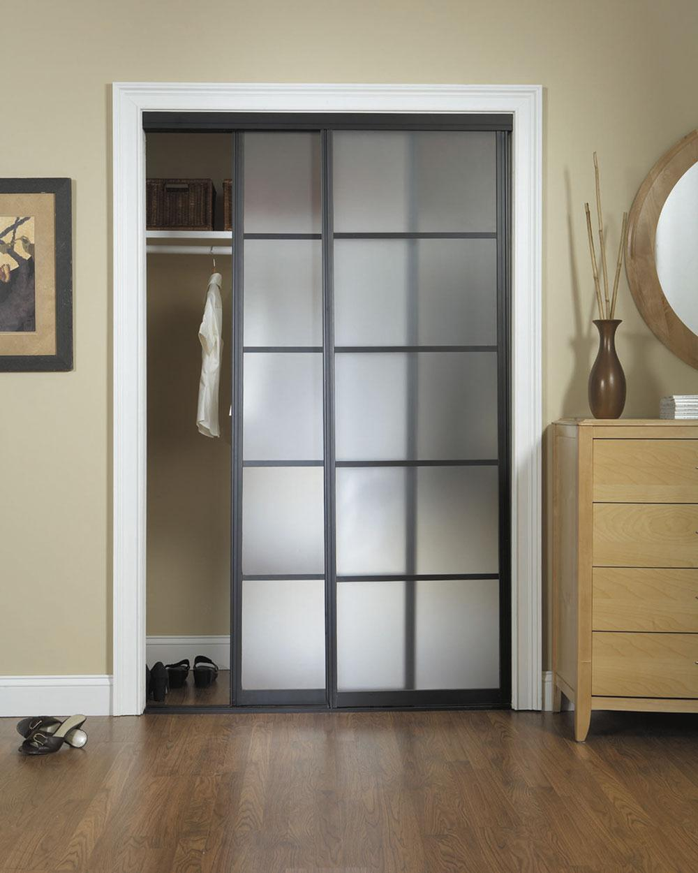 Cool bifold closet doors ikea homesfeed for Sliding door options