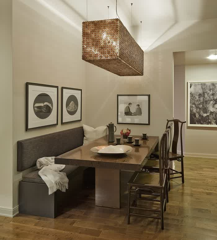 Dining Room Table With A Bench: Wonderful Dining Room Benches With Backs