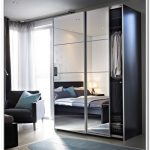 Modern Mirrored Bifold Closet Doors Ikea