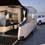 Modern Opened Small Travel Trailer Manufacturers