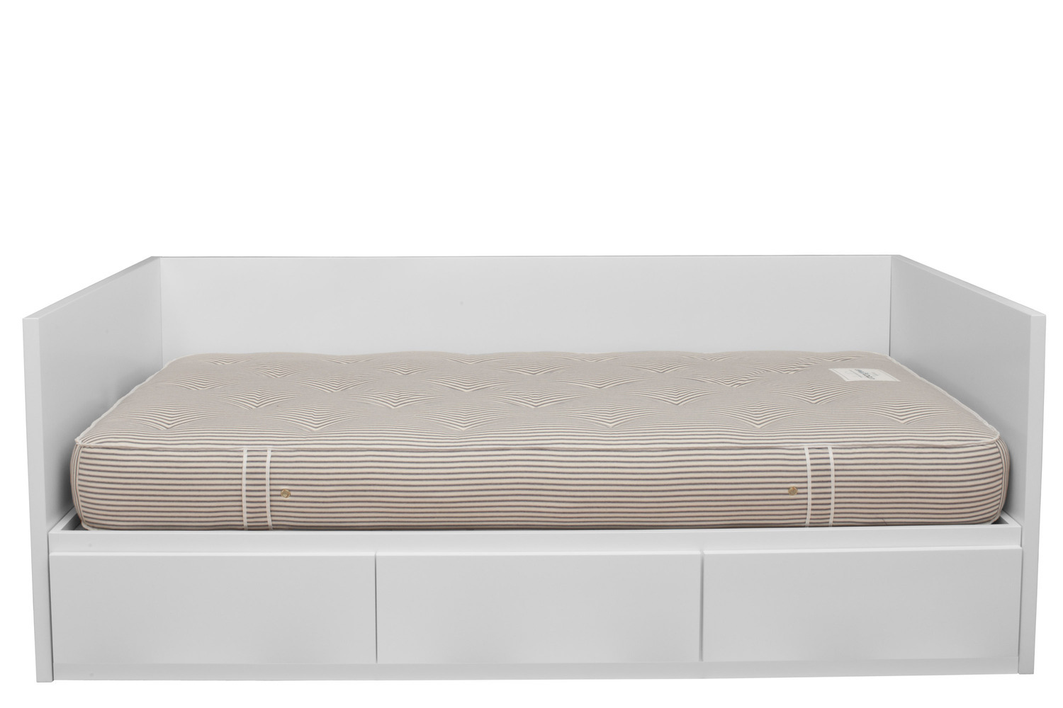 modern white simple extra long twin daybed