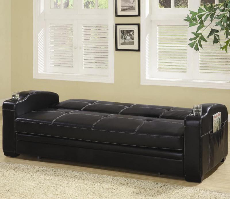 Most Comfortable Futons For Sofa Black Design And Fur Rug