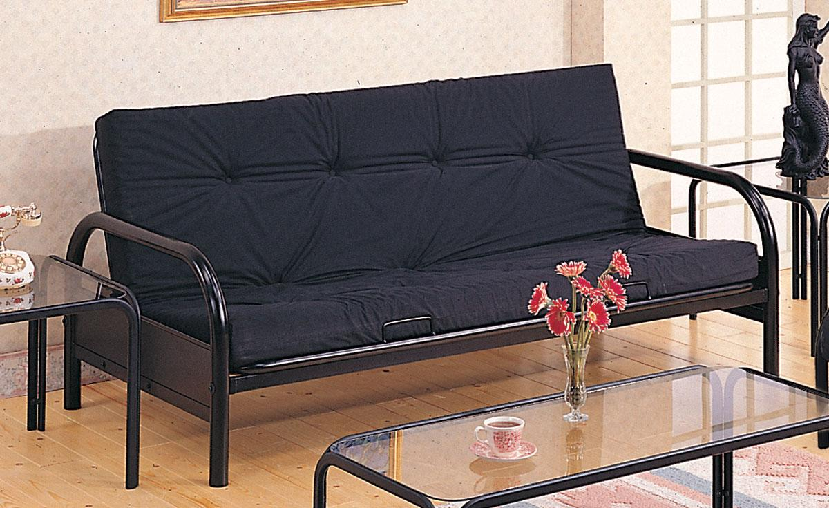 most  fortable futons sofa bed with wrought iron frame and glass top table most  fortable futons   homesfeed  rh   homesfeed
