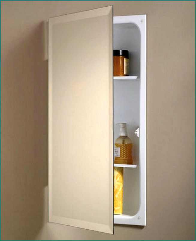 Good Recessed Medicine Cabinet No Mirror : HomesFeed