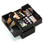 Opened case for makeup