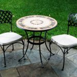 Outdoor Bistro Set Ikea With Ceramic Round Table