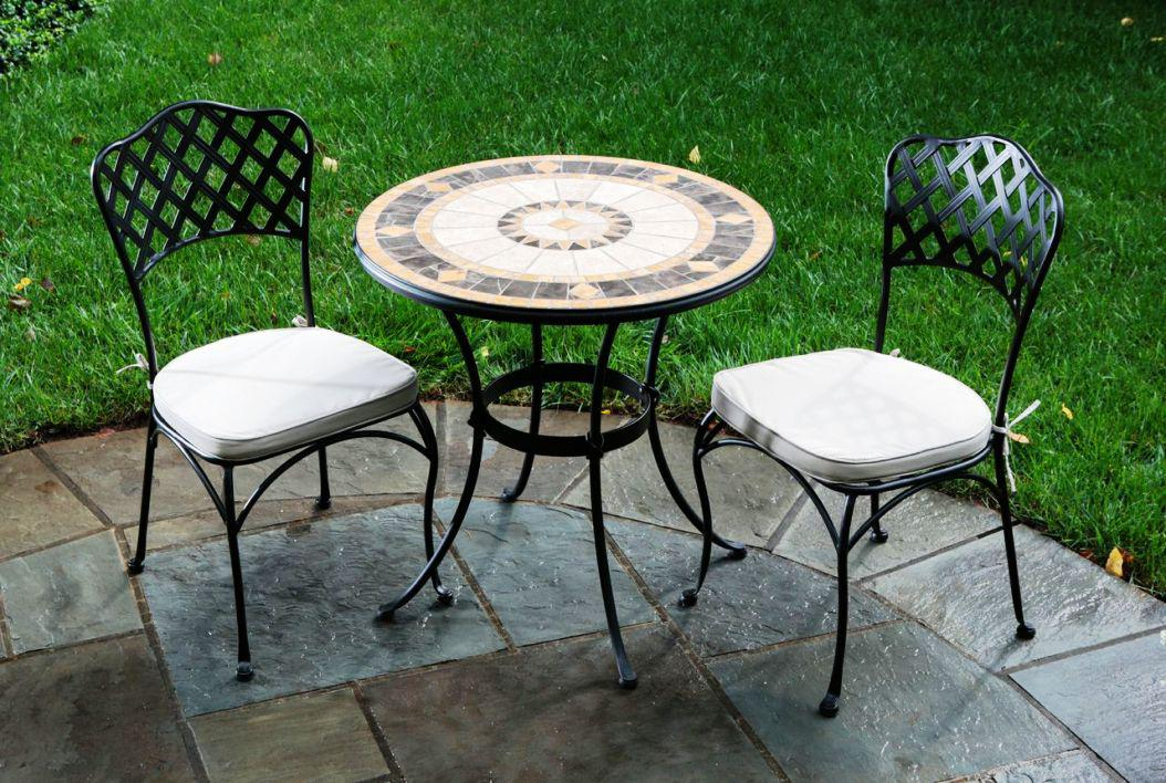 Beautiful outdoor bistro set ikea homesfeed - Gartenmobel set rund ...