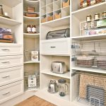 Perfect Walk In Pantry Shelving Systems With Drawers