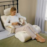 Perfect White Pillows For Sitting Up In Bed With Legs Part