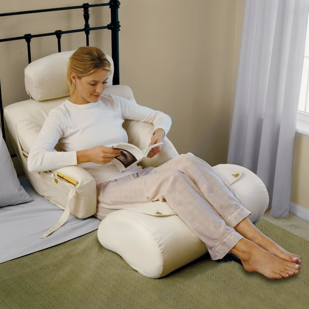 Bed rest pillow walmart - Perfect White Pillows For Sitting Up In Bed With Legs Part