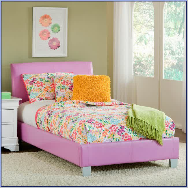 Pink Full Size Bed FrameFull Size Loft Bed Frame Girls