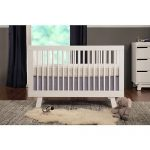 Pure white baby crib designed by Letto Hudson