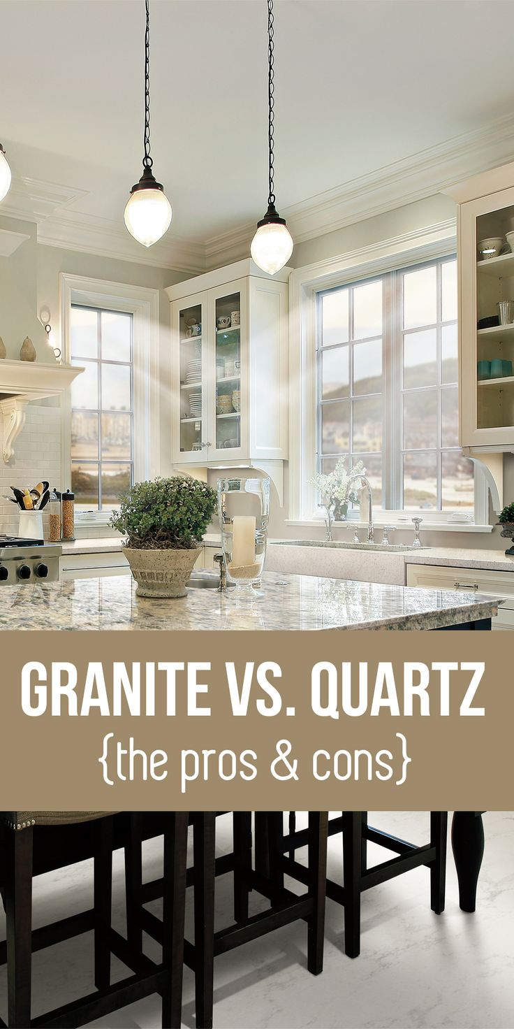 Awesome quartzite countertops pros and cons homesfeed - Quartz versus granite countertops ...