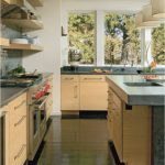 Quartzite Countertops Pros and Cons For Simple Kitchen With Wooden Kitchen Set