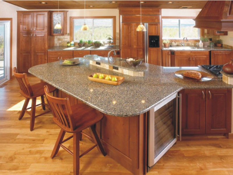 Wooden kitchen countertops pros cons minimalist kitchen for Kitchen worktops cape town